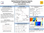 Assessment of Alternatives Effects and Choosing the Optimized Demand Response Capacity of Automatic Lighting System