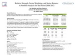 Relative Strength, Sector Weighting, and Sector Returns: A Portfolio Analysis for the Period 2008-2012