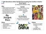 Research exercise: Research on Conflict in Darfur