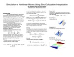 Research exercise: Simulation of Nonlinear Waves Using Sinc Collocation-Interpolation
