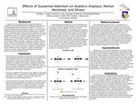 Effects of Sustained Attention on Auditory Displays, Mental Workload, and Stress