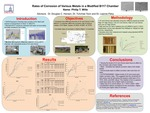 Rates of Corrosion of Various Metals in a Modified B117 Chamber and Their Correlation to Field Data