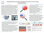 Research exercise: Google/Multi-National Corporations, International Surveillance, and Human Rights