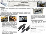 Design and Fabrication of Composite I-Beams for Bending Load Applications