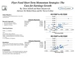 Earnings Momentum Shifts and Stock Price Movements for Flyer Fund Stocks