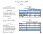 Research exercise: Fund Allocation Strategies for ETFs: A Contrarian Approach
