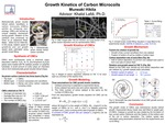 Growth Kinetics of Carbon Microcoils