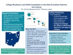 Research exercise: Increasing FAFSA Completion Rates: A Look at the Ohio 8 Coalition