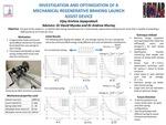 Investigation and Optimization of a Mechanical Regenerative Braking Launch Assist Device