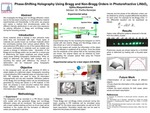 Phase-Shifting Holography Using Bragg and Non-Bragg Orders in Photorefractive LiNbO3