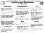 Related Self-Motives? Examining the Association between Self-Verification and Self-Handicapping