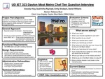 Research exercise: UD IET Dayton Most Metro Chef Ten Question Interview