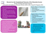 Research exercise: Research on Foundational Elements of the Education System