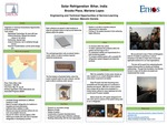 Research exercise: ETHOS - Appropriate Solar Technology for Bihar, India