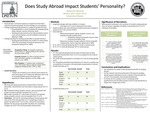 Does Study Abroad Impact Students' Personality?