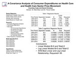 A Covariance Analysis of Consumer Healthcare Expenditures and Healthcare Sector Price Movements by Courtney E. Cady and David A. Christian