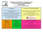 Research exercise: The implications for instruction under The Common Core State Standards in Mathematics and the effect on students with Dyscalculia
