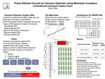 Power Efficient Circuits for Intrusion Detection using Memristor Crossbars