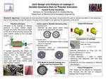 Joint Design and Analysis of Leakage in Movable Extrusion Dies.