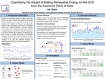 Quantifying the Impact of Adding Renewable Energy on the Grid from Economic Point of View