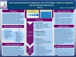 Cultural, Linguistic, and Emotional Adjustment: Adaptation of International Students into a U.S. College