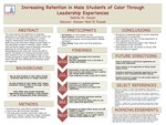 Increasing Retention in Male Students of Color Through Student Leadership Experiences
