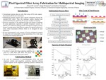 Design and Fabrication of Fourier Spectral Filter Array for Multispectral Imaging