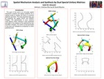 Spatial Mechanism Analysis and Synthesis by Dual Special Unitary Matrices