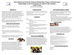 International and Domestic Students Relationships: Impact of Interpersonal Relationships on the Development of Cultural Understanding
