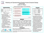 Modeling and Operationalizing Flexible Human-Computer Dialogs by Joshua W. Buck