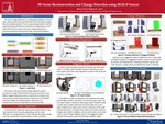 3D scene reconstruction and change detection using RGB-D sensor data