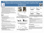 The Effects of Adolescent Housing Condition and Voluntary Exercise on Alcohol Intake and Stress Response in Male Long-Evans Rats