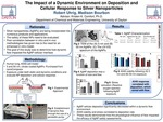 The Impact of a Dynamic Environment on Deposition and Cellular Response to Silver Nanoparticles