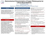 Electrochemical Characterization of Copper Phthalocyanine for Lithium-Based Batteries