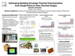 Estimating Building Envelope Thermal Characteristics from Single-Point-in-Time Thermal Images