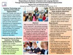 Responding to the Needs of Students with Language Barriers Through Instructional Methods and Enhanced Educational Opportunities