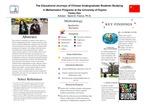 The Educational Journeys of Chinese Undergraduate Students Studying in Mathematics Programs at the University of Dayton