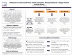 Multiracial in a Monoracial World: Identity Integration Among Multiracial College Students