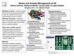 Evaluation and Improvements on Stress and Anxiety Resources at UD