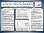 Health-Related Quality of Life in Chronically-Ill College Students: Examining Influential Constructs