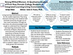 Strong Willed Women: A Qualitative Analysis of First-Year, Female College Students in Integrated Learning-Living Communities