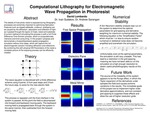 Computational Lithography for Electromagnetic Wave Propogation in Photoresist