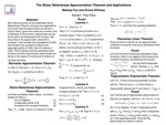The Stone-Weierstrass Approximation Theorem and Applications