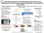 Data Mining Approach for Estimating Residential Attic Thermal Resistance from Aerial Thermal Imagery, Utility Data, and Housing Data
