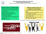 Dress Code Inside and Outside of the Classroom