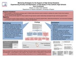 Mentoring Strategies for the Support of High School Students Experiencing Anxiety and Depression: A Case-Study of Two Catholic High Schools