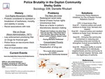 Police Brutality in the Dayton Community