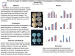 The role of oxygen in antibiotic resistance in Listeria monocytogenes and Staphylococcus aureus