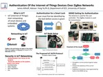 Authentication Of the Internet of Things Devices Over ZigBee Networks
