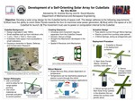 Design of a Self-Orienting Solar Array for Small Low-Earth Orbit Satellites